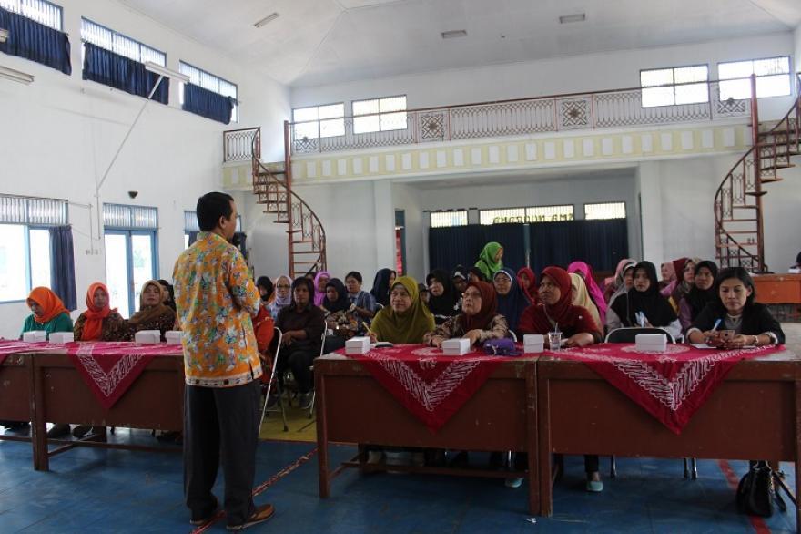Image : KPU Sosialisasi Pendidikan Pemilih Berbasis Keluarga di Desa Banyurojo
