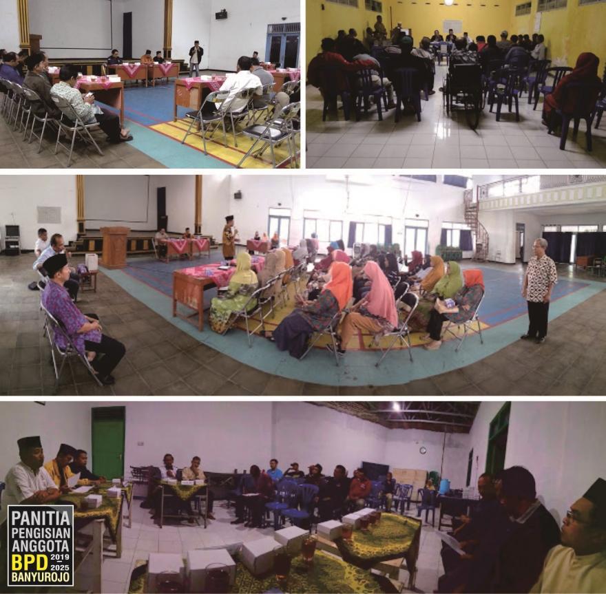 Image : 9 Calon Anggota BPD Terpilih Desa Banyurojo Masa Bhakti 2019 - 2025