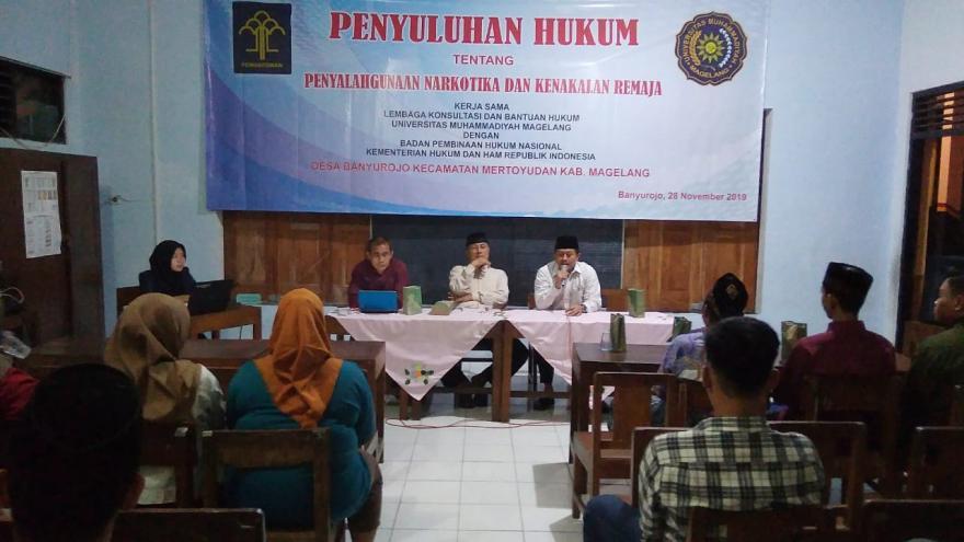 Image : Penyuluhan Hukum Tentang Penyalahgunaan Narkotika dan Kenakalan Remaja Oleh LKBH UMM