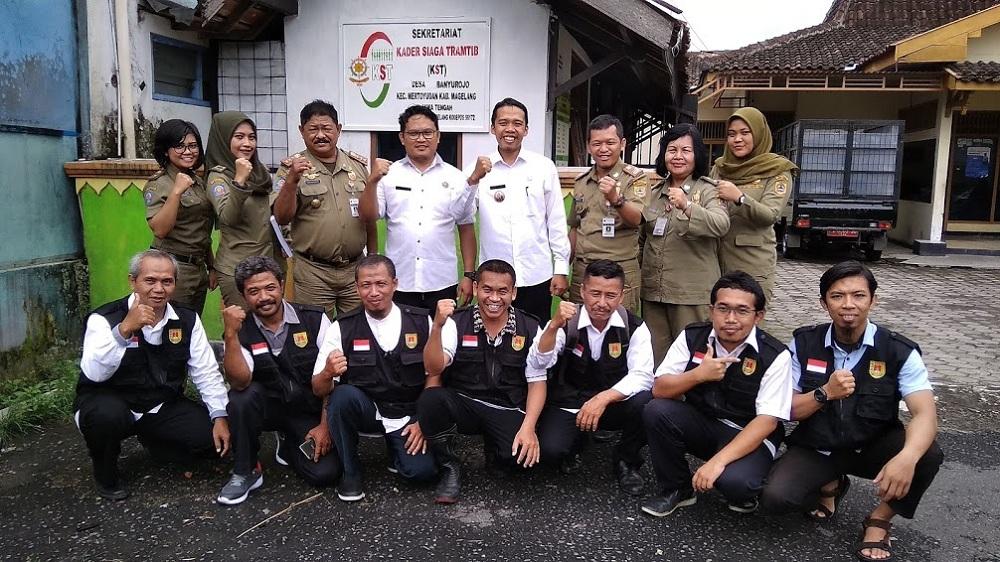 Image : Satpol PP Magelang Jalin Komunikasi Dengan KST Banyurojo