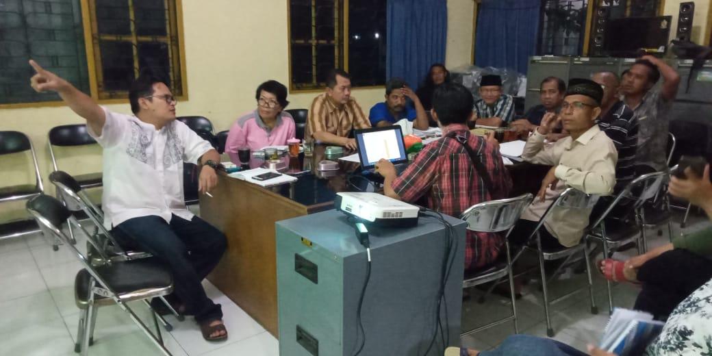 Image : Tim Gulkin Desa Banyurojo Lakukan Koordinasi dan Evaluasi Hasil Musdus