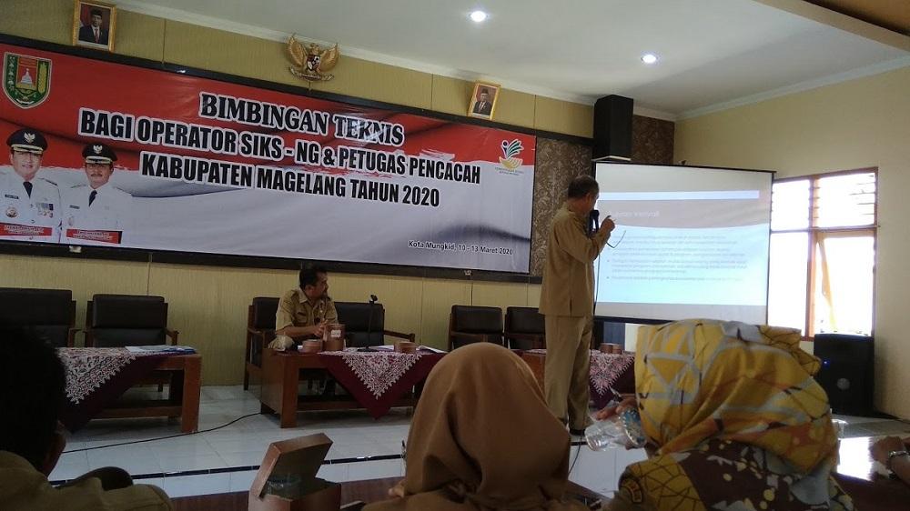 Image : Desa Banyurojo Ikuti Bintek Operator SIKS-NG & Petugas Pencacah Tahun 2020