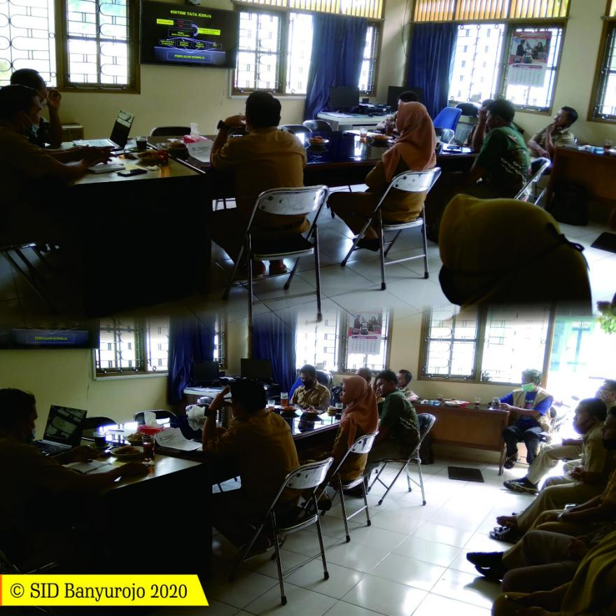 Image : Tingkatkan Kapasitas, Desa Banyurojo Laksanakan Rakor Kepala Desa, Perangkat, Staf dan Pendamping Desa beserta PLD Kecamatan