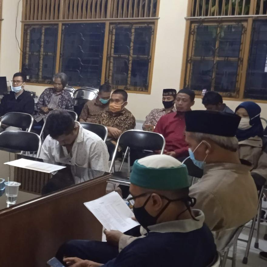 Image : Musyawarah Desa Khusus Calon Penerima BLT DD Tahun 2021